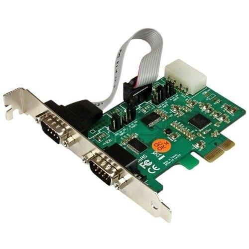 Startech - Pex2s553s 2Port Pcie Rs232 High Speedn921k Serial Port Card
