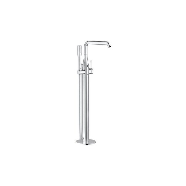 Grohe 23 491 Essence New Floor Mounted Tub Filler with Personal Hand Shower and Auto Diverter - Less Valve