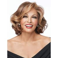 Crowd Pleaser by Raquel Welch Wigs - heat-friendly synthetic fiber, Lace Front Cap.