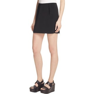 Elizabeth and James Womens Mini Skirt Solid Polyester