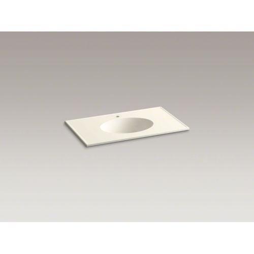"Kohler K-2798-1 Ceramic/Impressions 37"" Vitreous China Vanity Top - Sink Included"