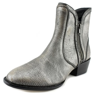 Very Volatile Moffit Women Round Toe Leather Ankle Boot