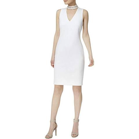 White Calvin Klein Dresses Find Great Women S Clothing