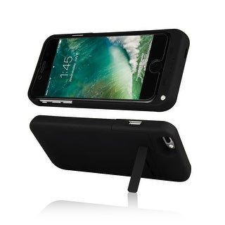 Indigi® Rechargeable External Reserve Smart Battery Juice Pack for iPhone 7 Plus - 4000mAh - Black
