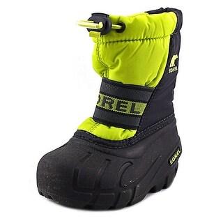Sorel Cub   Round Toe Synthetic  Snow Boot