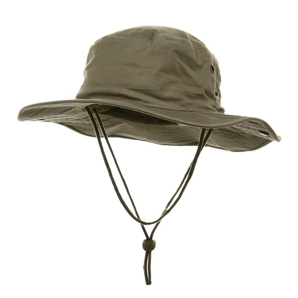 364311563fd Shop BRUSHED TWILL HUNTING FISHING HAT W SIDE SNAPS