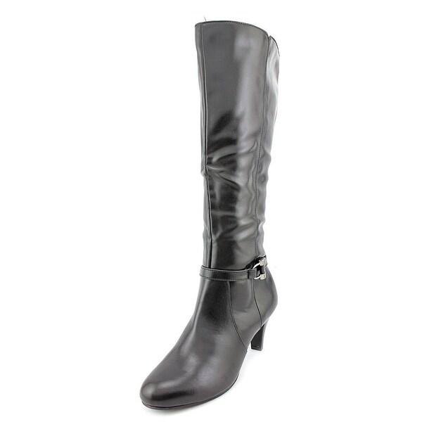Karen Scott Hadley Womens Black Boots