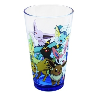 Pokemon Eevee Evolution 16oz Pint Glass - Multi