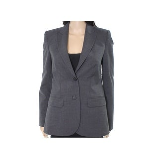 Kobi Halperin NEW Sloane Gray Womens Size 8 Wool Two-Button Blazer