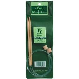 """Takumi Bamboo Flexible Knitting Needles 20""""-Size 7/4.5mm"""