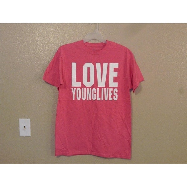 49bd5a9f81 Love Young Lives Adult L Large T-shirt by J. America