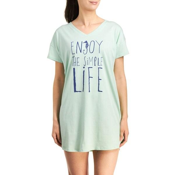 Hue Sleepwear Women's Enjoy Life Sleepshirt