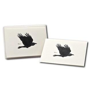 Earth Sky - Water-Lewers LEWERSNC147 Raven Note Cards