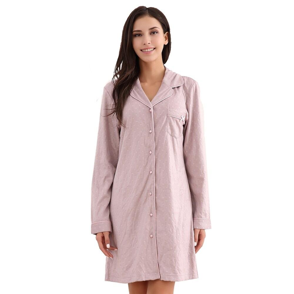 Richie House Womens Medium Style Fleece Top Pajama