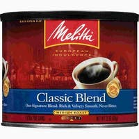 Melitta 602601 Classic Coffee Single Pack 22 Ounce Classic Ground Coffee