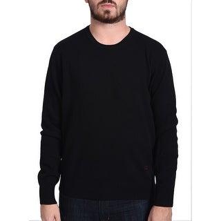 Valentino Men's Crew Neck Sweater Black