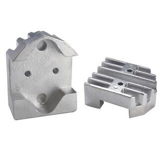 Tecnoseal Gimbal Block Anode Zinc Finned - Merc - 00806