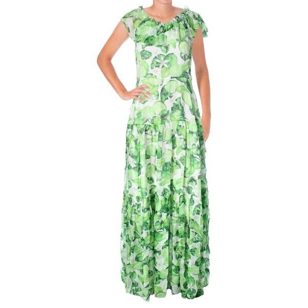 6f7f50d0e9d37 Shop Isolda Womens Maxi Dress Silk Chiffon Printed - Free Shipping ...