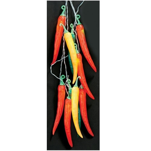 Celebrations 624F6212 Summer Nights Chili Pepper Light Set, 10.2'