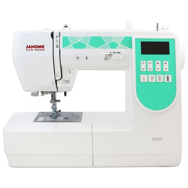 Janome 6100 Computerized Sewing Machine With Exclusive Bonus Bundle