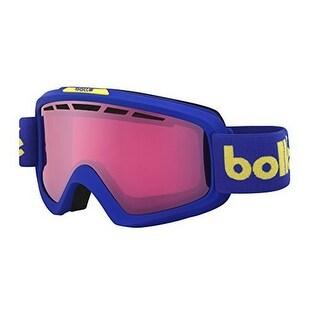 Bolle Nova II Goggles, Matte Blue Retro, Vermillion Gun Lens