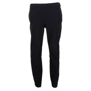 Alfani Black Comfort Waist Creased Skinny Cropped Ankle Pants 8
