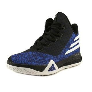 Adidas Light Em Up 2 J Men Round Toe Synthetic Blue Basketball Shoe