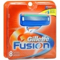 Gillette Fusion Cartridges 8 Each - Thumbnail 0