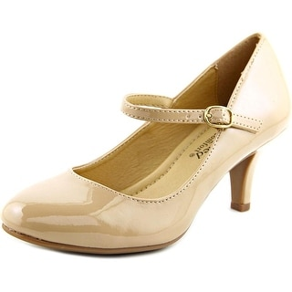 City Classified KIRK-H Round Toe Synthetic Mary Janes