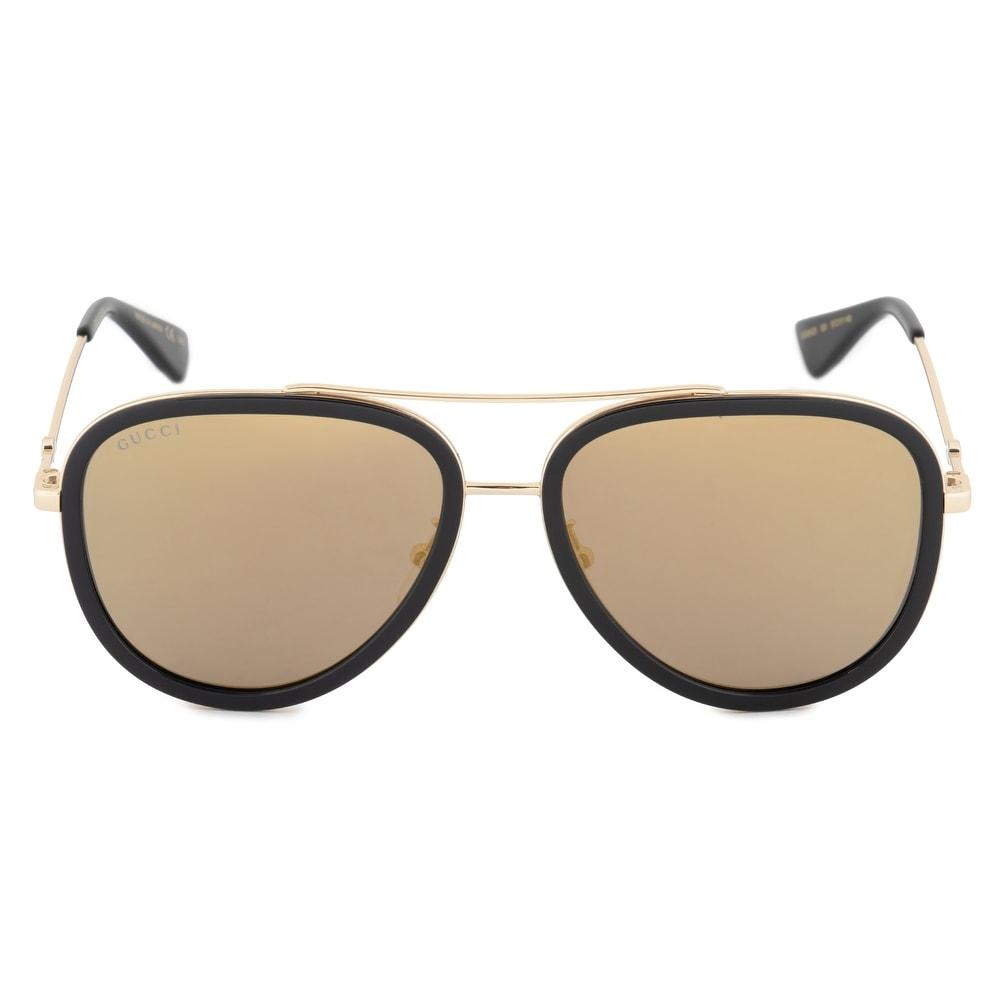 Gucci Aviator Sunglasses GG0062S 001 57 - 57mm x 17mm x 140mm