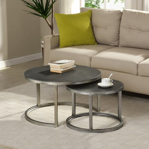 FirsTime & Co. Hayes Nesting 2-piece Coffee Table Set