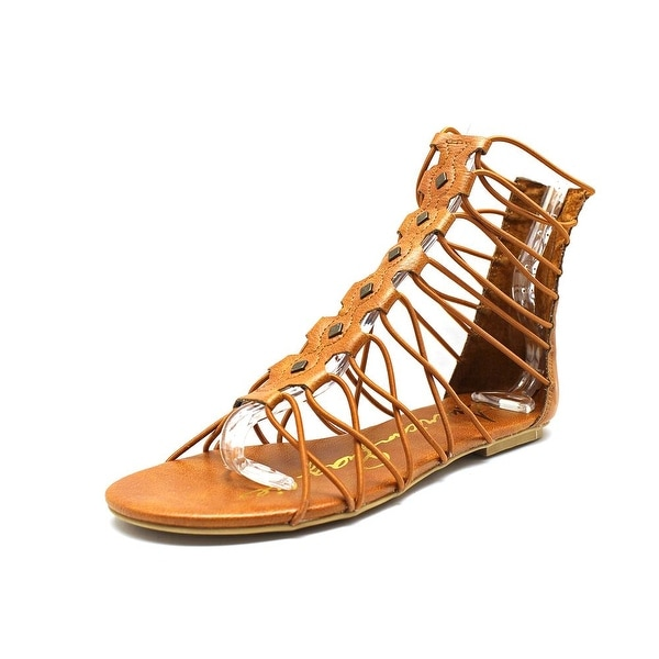 American Rag Romen Women Open Toe Synthetic Brown Gladiator Sandal