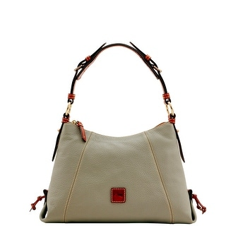 Dooney & Bourke Pebble Grain Small East West Slouch (Introduced by Dooney & Bourke at $248 in Nov 2015) - Smoke