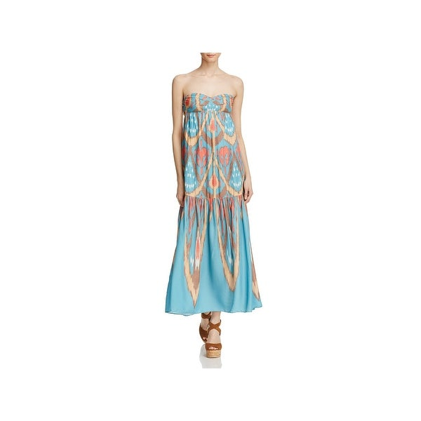 10a530aac92 Shop Free People Womens Maxi Dress Printed Pull On - Free Shipping ...