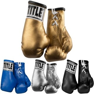 "Title Boxing 5"" Authentic Detailed Mini Lace Up Gloves - One size"