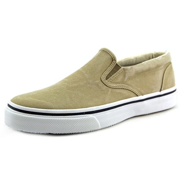 Sperry Top Sider Striper S/O Round Toe Canvas Loafer