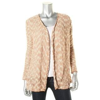 O'Neill Womens Zane Boucle Striped Cardigan Sweater - XS