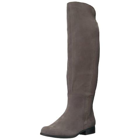 Bandolino Womens Chieri Almond Toe Knee High Fashion Boots
