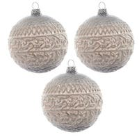 Misty Lake White Wash Ornament