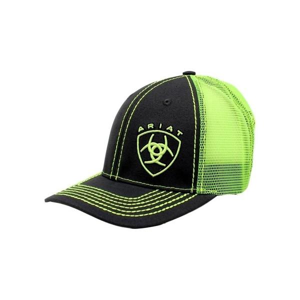 6fec55c99b0ea canada ariat western hat mens baseball cap mesh snap one size lime 102d7  343d2