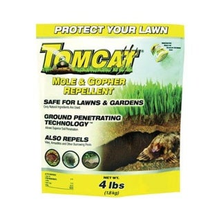 Tomcat 34784 Mole & Gopher Repellent, 2000 Square Feet