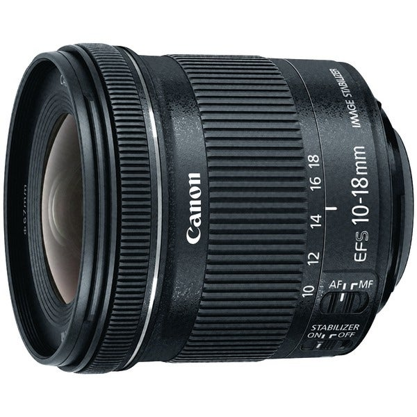 Canon 9519B002 Ef-S 10Mm-18Mm F/4.5-5.6 Is Stm Lens