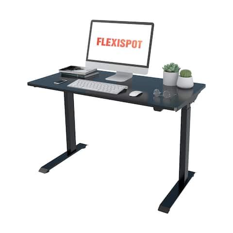 FlexiSpot Electric Quick-Install Height Adjustable Desk Computer Standing Desk FC9