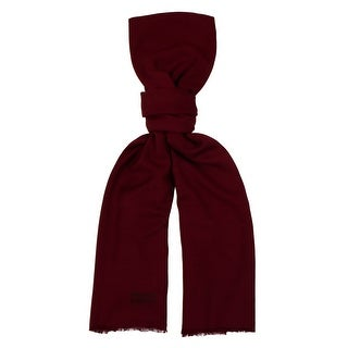 Moschino MOPSM0001/28 Burgundy Solid Scarf