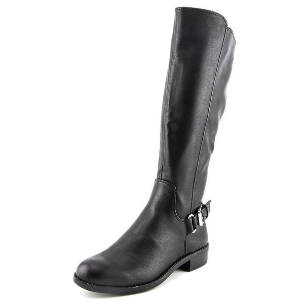 Alfani Jarabina Round Toe Leather Knee High Boot