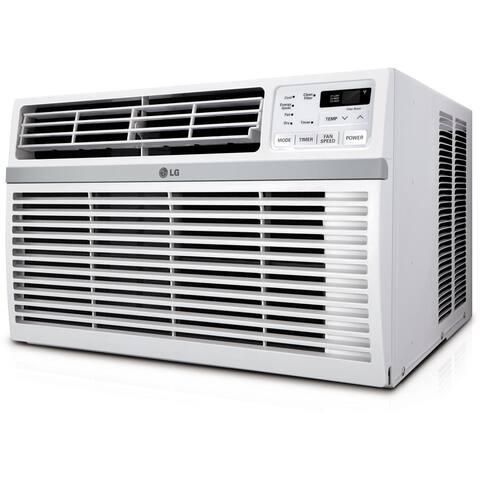 LG LW8016ER 8,000 BTU 115V Window-mounted Air Conditioner with Remote Control - 8,000 BTU