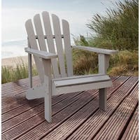 Shineco 4611TG Westport Adirondack Chair, Taupe Gray