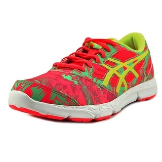 Asics 33-DFA- 2 GS Youth Round Toe Synthetic Pink Running Shoe