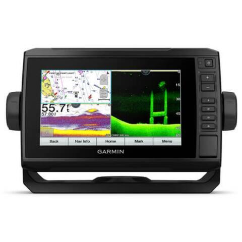 Garmin ECHOMAP 74cv UHD 7 Inch Chartplotter With GT24UHD-TM Transducer