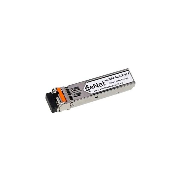 ENET MGBIC-BX10-D-ENC Enterasys Compatible MGBIC-BX10-D 1000BASE-BX-D SFP BiDi Tx1490nm/Rx1310nm 20km DOM Simplex LC SMF 100%